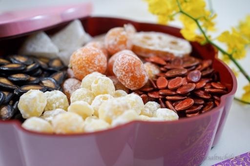 Chinese Candy Box Close-up