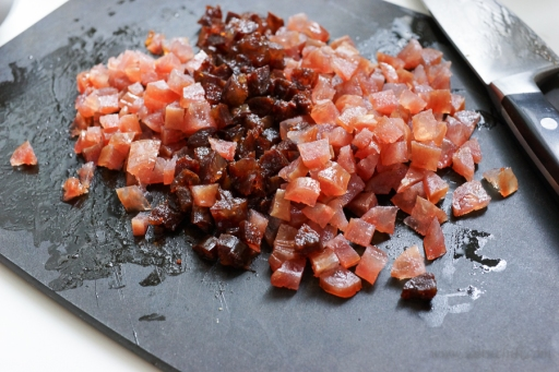 Diced Preserved Chinese sausages