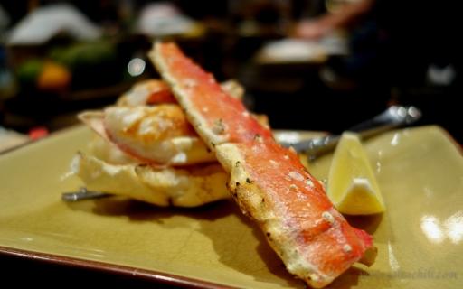Inakaya Robatayaki King Crab Legs