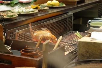 Inakaya Robatayaki Kinki Fish Grilling