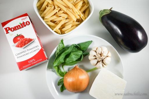 Pasta alla Norma Ingredients
