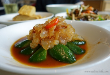 The Dining Room Marinated Jellyfish with Cucumber