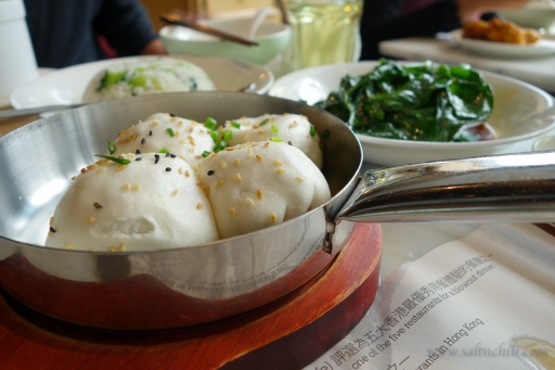 The Dining Room Signature Pan-Fried Crispy Poork Soup Buns