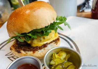 Beef & Liberty Black Pepper Burger