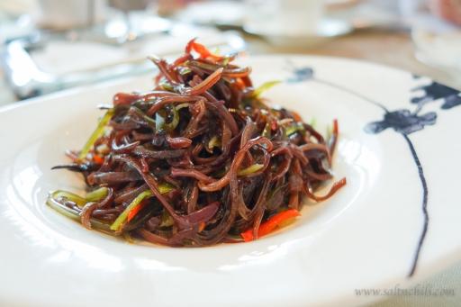 Black Fungus Sichuan Spicy Sauce