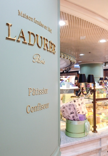 Laduree Macarons Hong Kong