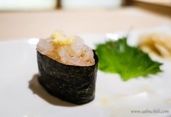 Sushi Fuku-Suke Japanese Glass Shrimp