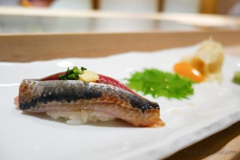 Sushi Fuku-Suke Mackerel Sushi