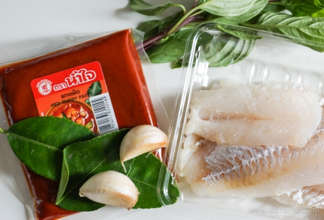 Thai Fish Cakes Ingredients