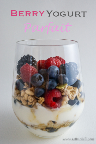 Berry Yogurt Parfait