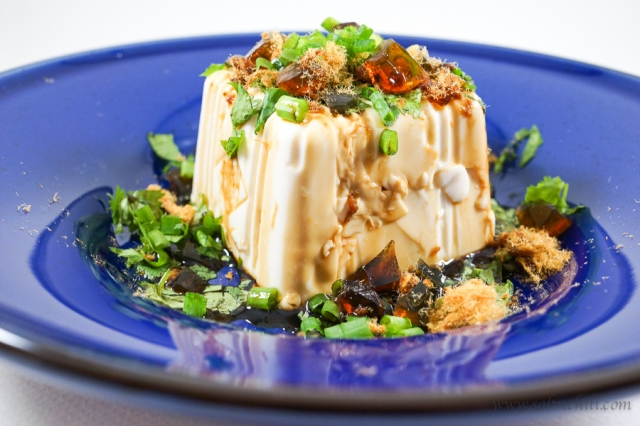 Soy-Dressed Chilled Tofu