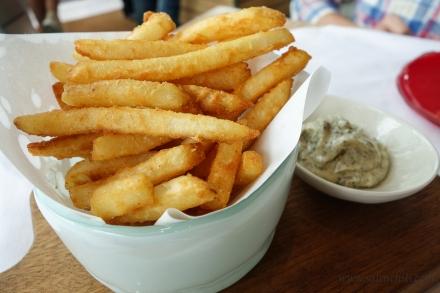 Glasshouse Crispy Fries with Truffle Mayo