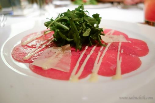 Nicholini's Beef Carpaccio