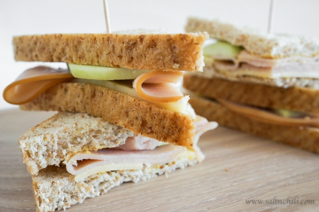 Deli Turkey Cheddar and Apple