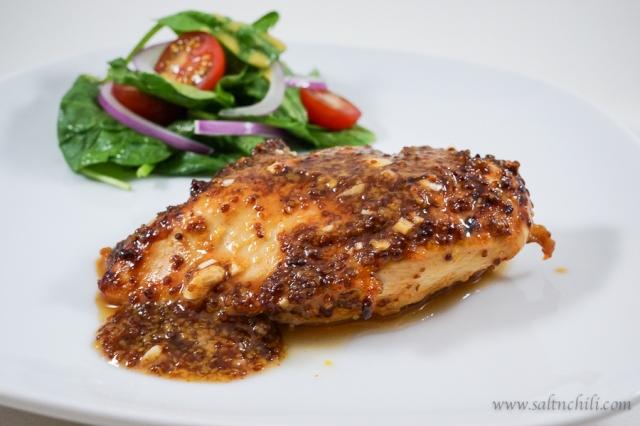 Honey Mustard Chicken | Salt & Chili