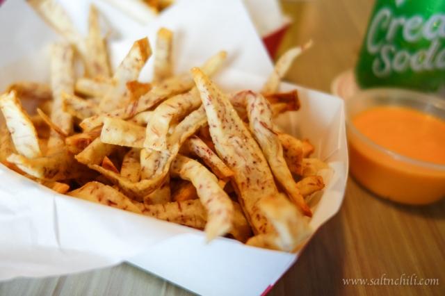 Bao Wow Taro Fries