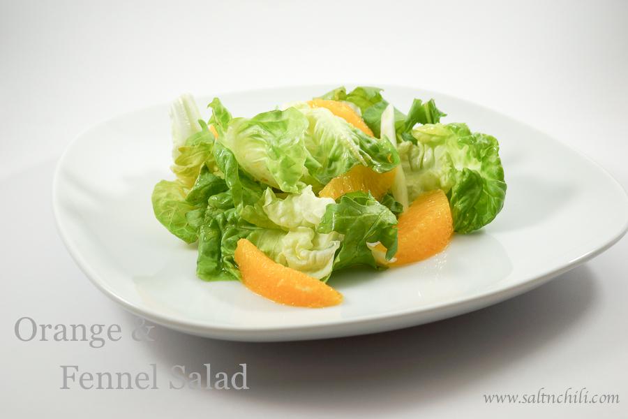 Orange and Fennel Salad | Salt & Chili