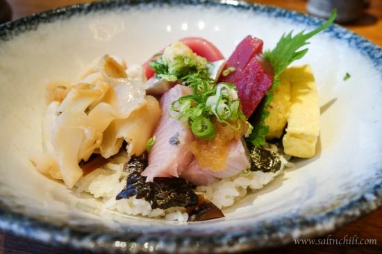 Kishoku Chirashi Rice Bowl