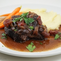 Slow-Braised Beef Cheeks
