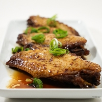 Chinese Soy Sauce Chicken Wings (滷水雞翼)
