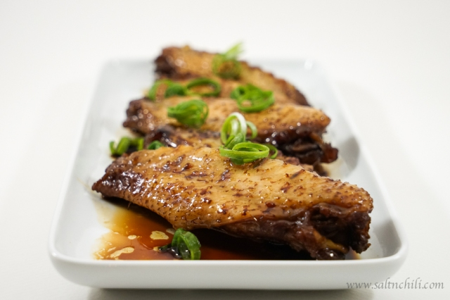 Soy Sauce Chicken Wing Recipe