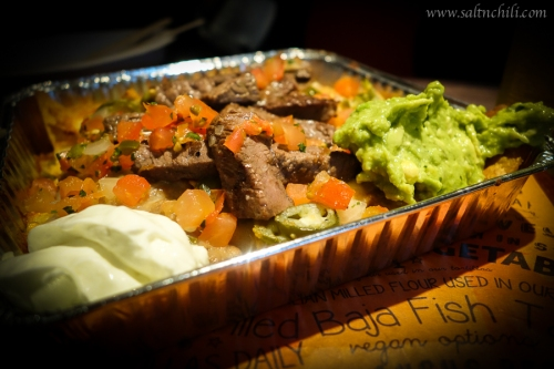 Cali-Mex Angus Steak with Nachos