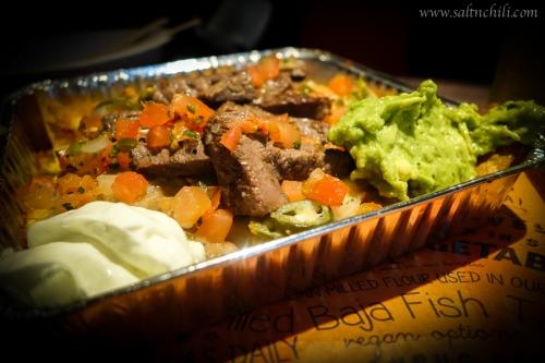 Cali-Mex Angus Steak with Nachos
