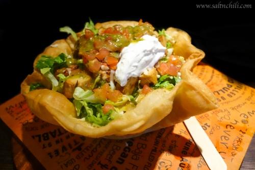 Cali-Mex Grilled Chicken Crispy Shell Salad