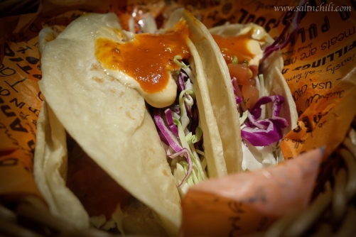 Cali-Mex Soft Baja Fish Taco