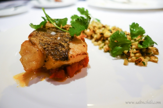 Quayside Pan-seared Red Snapper