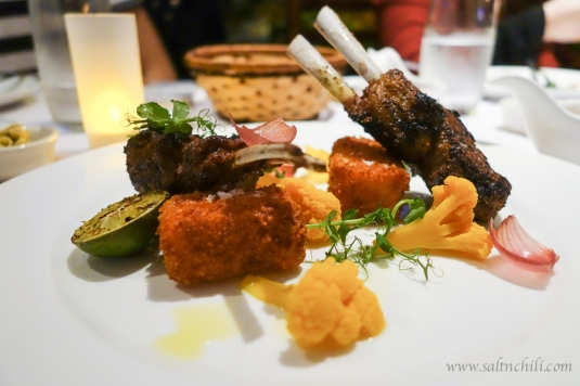 Quayside Ten Spiced Rubbed Lamb Chops