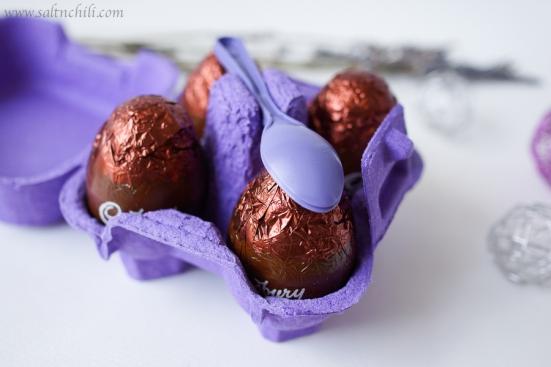 Cadbury Egg 'n' Spoon